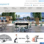 Ergoport - e-commerce website created by blackbelt commerce Shopify experts